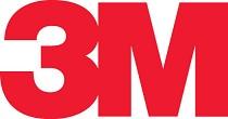 3M logo in het rood